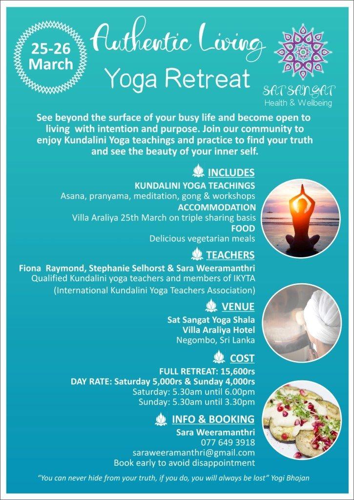 Kundalini Yoga  Villa Araliya